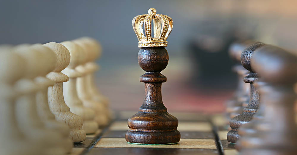 Pawn becomes a queen